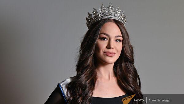 Представительница Армении на конкурсе красоты Мисс Вселенная Моника Григорян  - Sputnik Армения