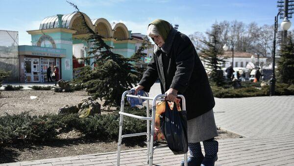 пожилая женщина, старость - Sputnik Արմենիա