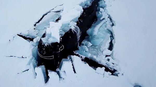 Учения в арктической экспедиции ВМФ России и РГО Умка - Sputnik Армения