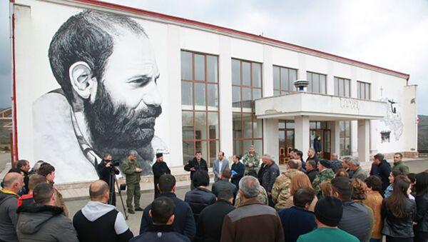 Президент НКР Араик Арутюнян посетил с рабочим визитом Мартунинский район (1 апреля 2021). Карабах - Sputnik Արմենիա