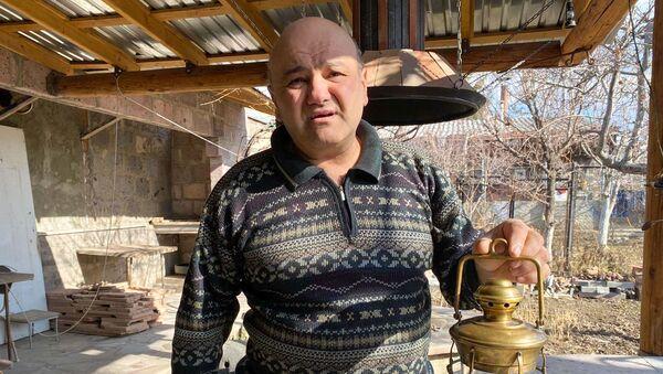 Коллекционер ламп, инженер-механик из Гюмри Манук Ованнисян - Sputnik Արմենիա