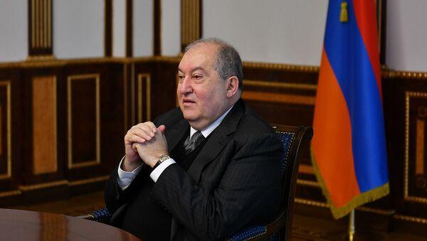 Президент Армен Саркисян - Sputnik Армения
