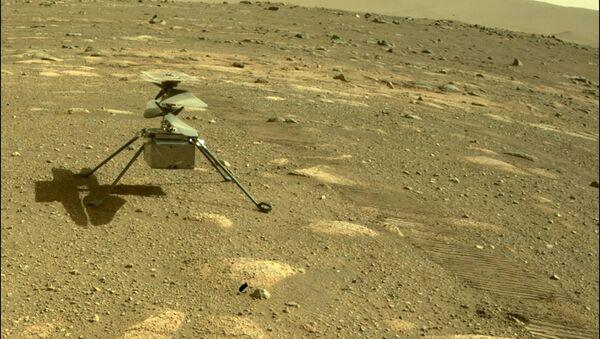 Вертолет Ingenuity на Марсе - Sputnik Армения