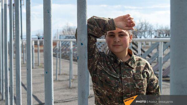 Курсант Мелания Хачанесян  - Sputnik Армения