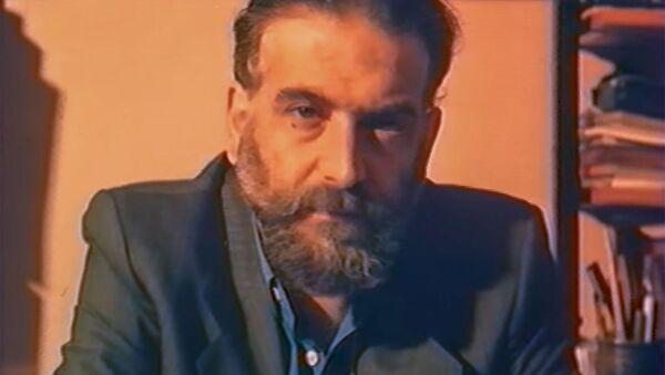 Кадр из документального фильма Гариг Басмаджян (реж. Паргев Малаян, киностудия Айк, 1990 год) - Sputnik Армения