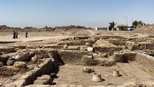 Золотой город: раскопки под Луксором в Египте - Sputnik Армения