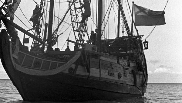 старинный корабль - Sputnik Армения