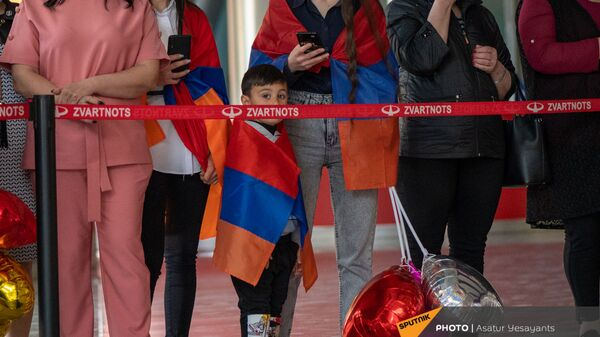 «Զվարթնոց» օդանավակայան - Sputnik Արմենիա