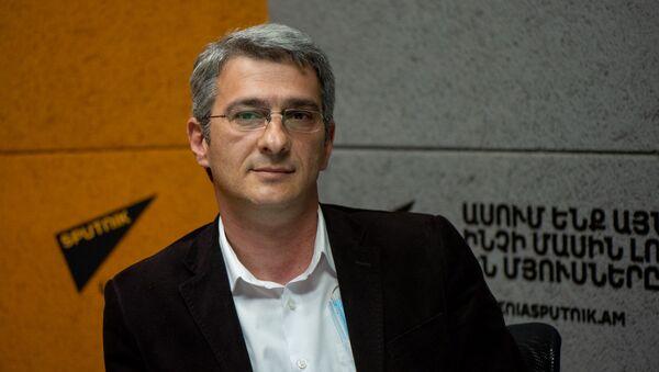 Глава Союза сыроваров Армении Армен Гигоян в гостях радио Sputnik Армения - Sputnik Արմենիա