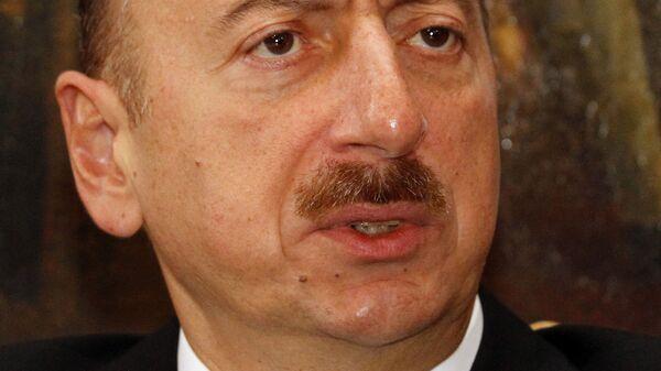 Президент Азербайджана Ильхам Алиев, архивное фото - Sputnik Армения