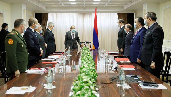 Заседание Совета безопасности Армении (13 апреля 2021). Еревaн - Sputnik Արմենիա