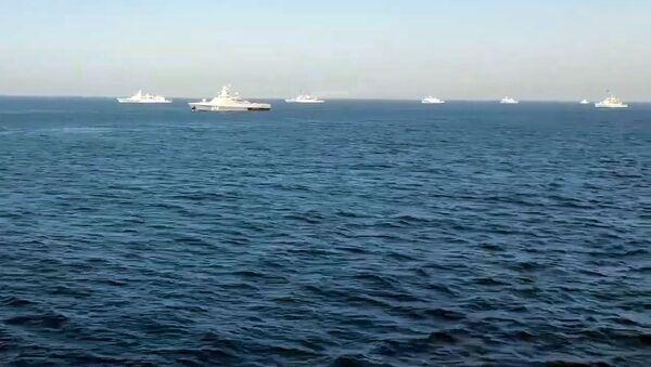 Военно-морские учения AMAN 2021 в Аравийском море - Sputnik Армения