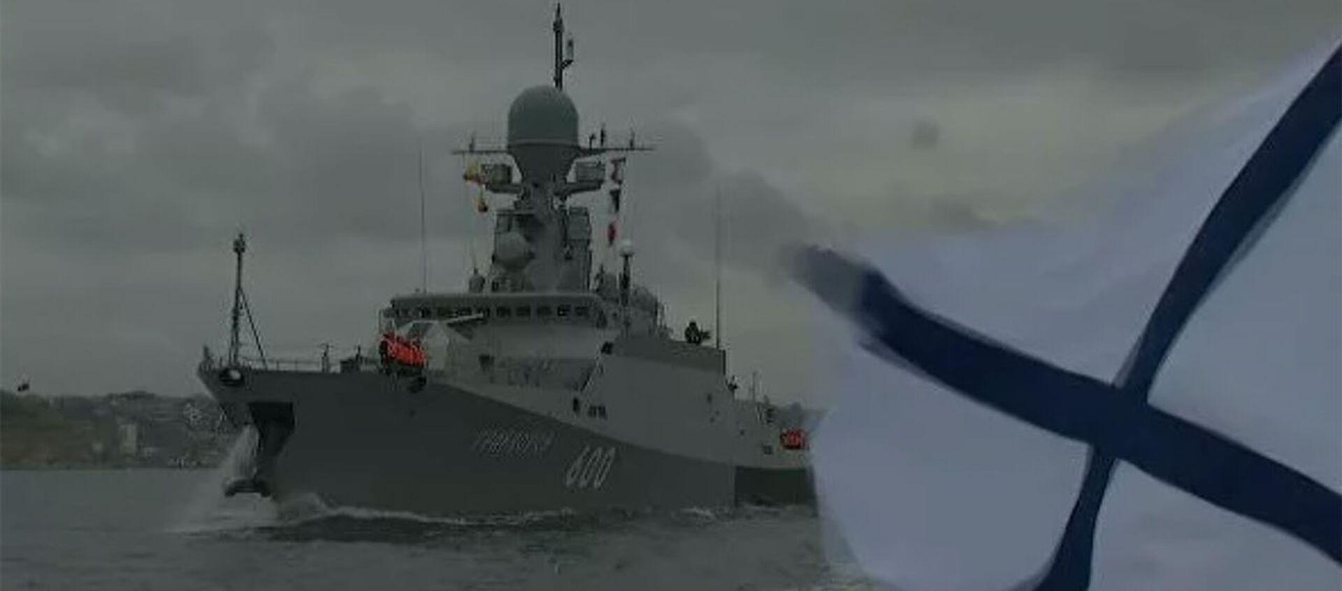 Отряд кораблей Черноморского флота вышел в море для проведения артиллерийских стрельб - Sputnik Армения, 1920, 14.04.2021