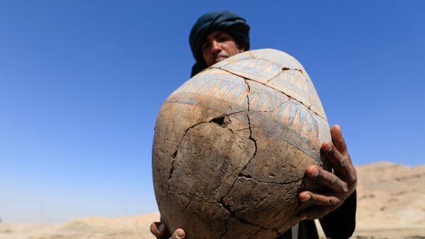 Պեղումներ Վերին Եգիպտոսում՝ Լուքսորի մոտակայքում հայտնաբերված «Ոսկե քաղաքում»։  - Sputnik Արմենիա