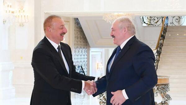 Переговоры Александра Лукашенко и Ильхама Алиева - Sputnik Армения