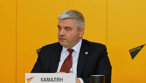Министр по промышленности и агропромышленному комплексу ЕЭК Артак Камалян - Sputnik Армения