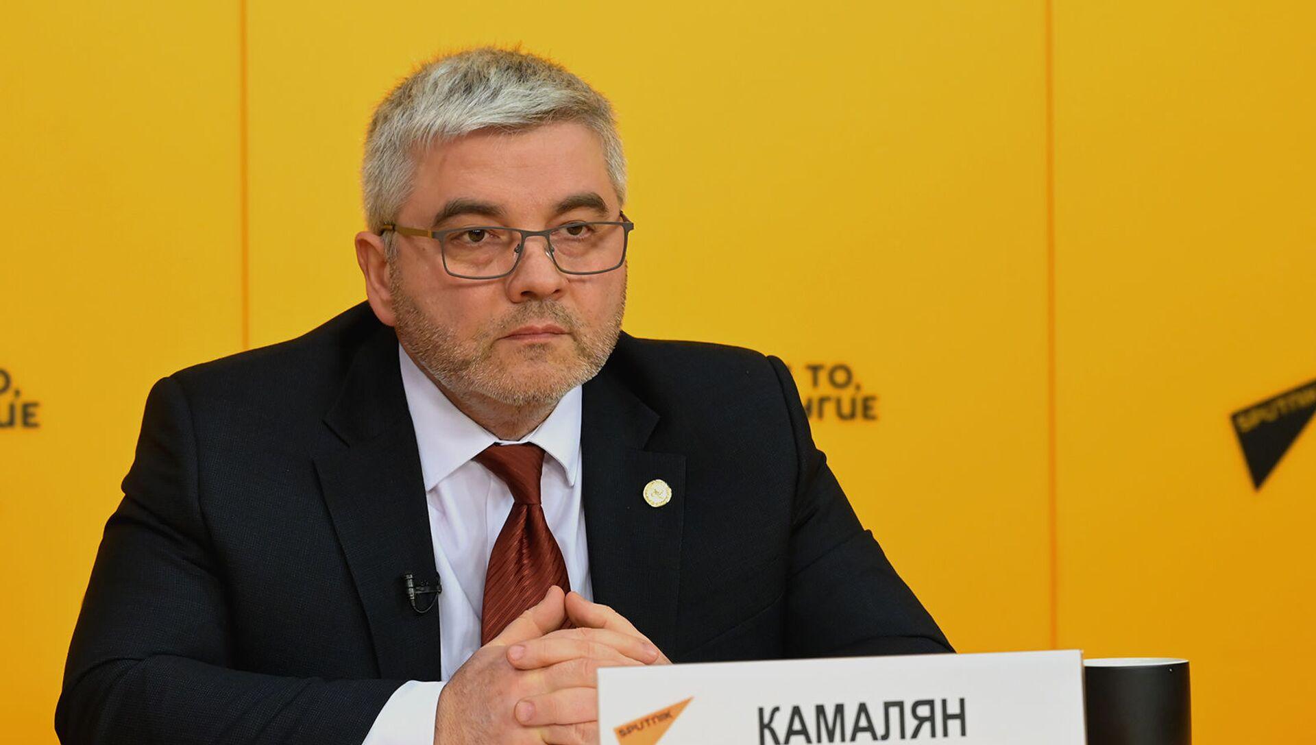 Министр по промышленности и агропромышленному комплексу ЕЭК Артак Камалян - Sputnik Արմենիա, 1920, 21.05.2021