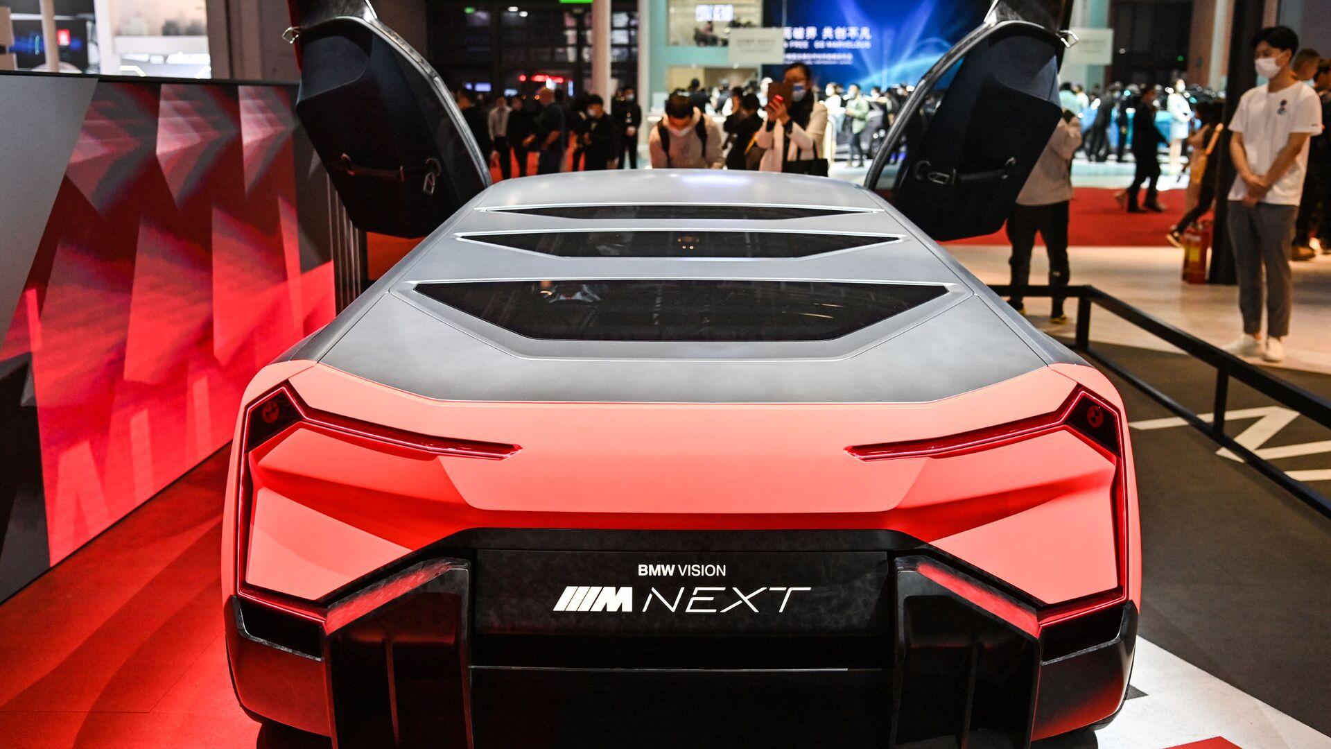 Автомобиль BMW Vision Next на 19-й международной автомобильной выставке в Шанхае - Sputnik Армения, 1920, 13.10.2021