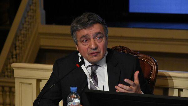 Председатель Медиаконгресса «Содружество журналистов», Секретарь Союза журналистов России Ашот Джазоян - Sputnik Армения