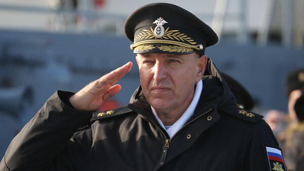 Приём в состав Черноморского флота патрульного корабля Павел Державин  - Sputnik Армения