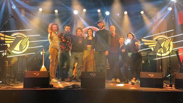 Группа Ladaniva после концерта в Нидерландах - Sputnik Армения