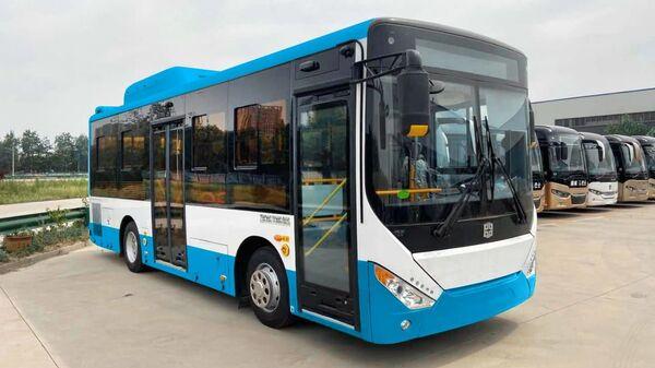 Автобусы компании Zhong Tong скоро поступят в эксплуатацию в городской транспортный автопарк  - Sputnik Армения