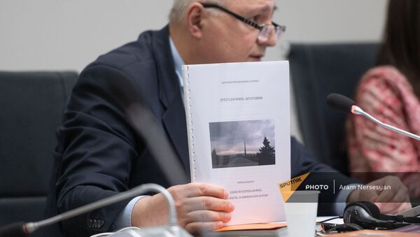 Директор Музея-института Геноцида армян Арутюн Марутян - Sputnik Армения