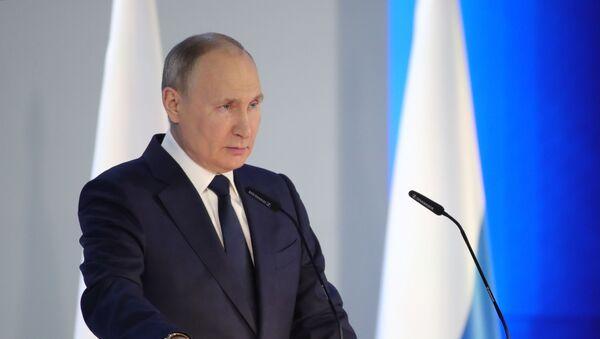 Ежегодное послание президента РФ Федеральному Собранию - Sputnik Արմենիա