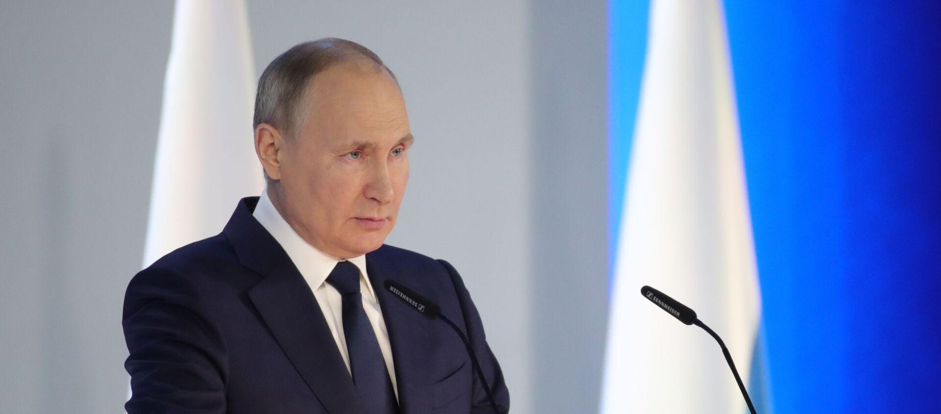 Ежегодное послание президента РФ Федеральному Собранию - Sputnik Армения, 1920, 08.05.2021