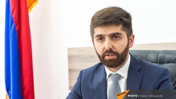 Заместитель министра экономики Арман Ходжоян - Sputnik Արմենիա