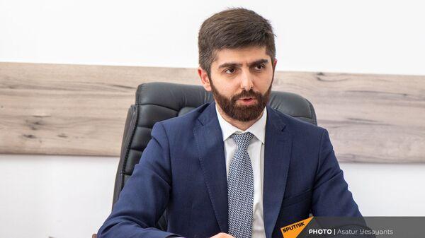 Заместитель министра экономики Арман Ходжоян - Sputnik Армения