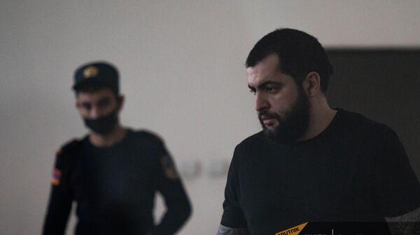Нарек Саргсян в зале суда (22 апреля 2021). Еревaн - Sputnik Արմենիա
