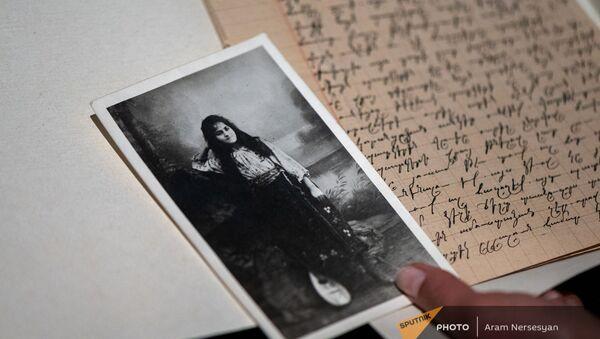 Фотография Ракель (Азатуи) Микаелян, выжившей во время Геноцида армян в Османской Империи - Sputnik Արմենիա