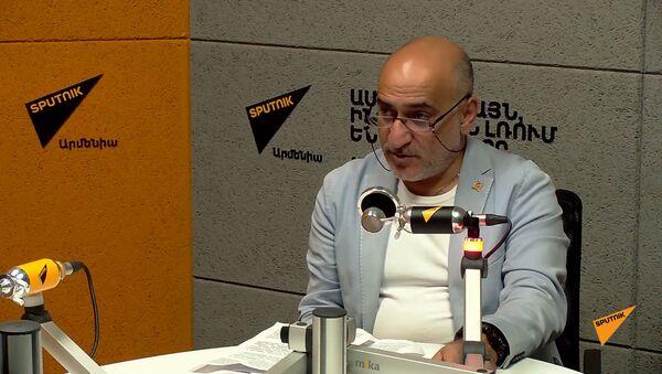 Бывший советник начальника генштаба Владимир Погосян о гибридной войне против Армении - Sputnik Армения