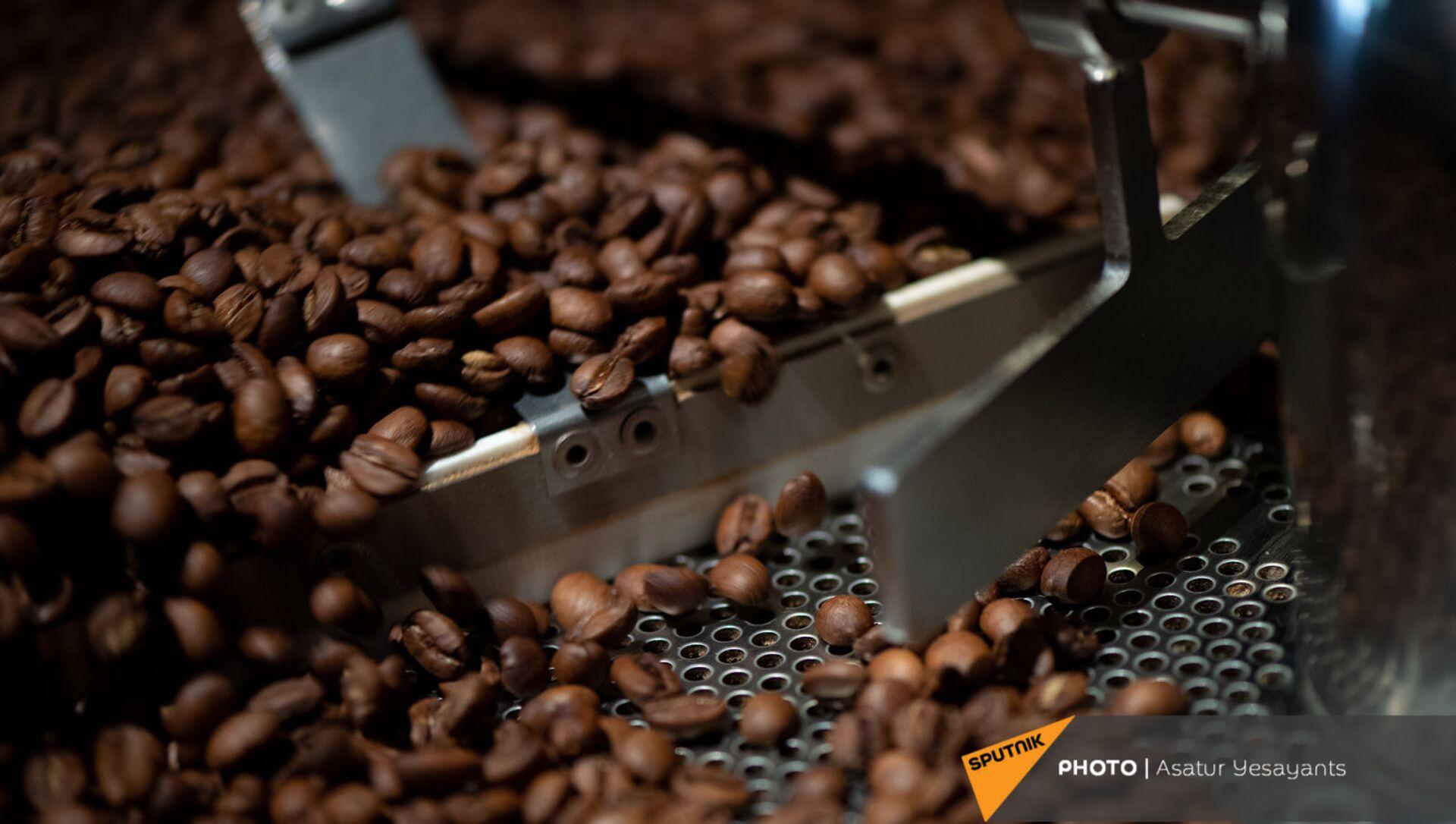 Зерна кофе - Sputnik Армения, 1920, 24.06.2021