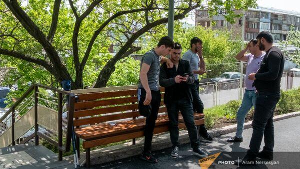 Пациенты центра протезирования и реабилитации Интерорто  - Sputnik Армения