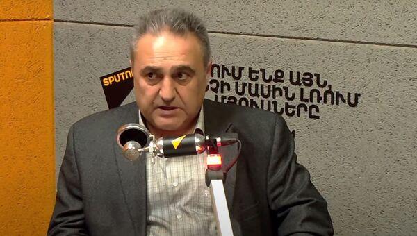Политолог Армен Багдасарян в гостях радио Sputnik Армения - Sputnik Արմենիա