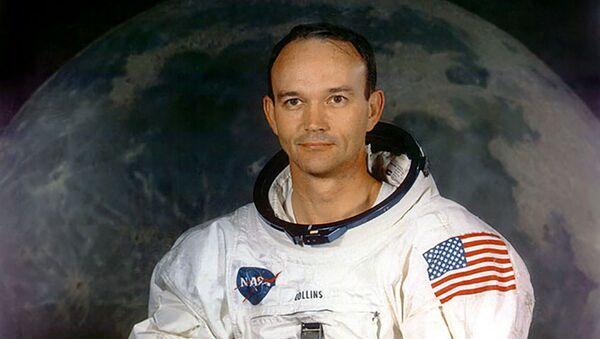 Американский астронавт и пилот Аполлона 11 Майкл Коллинз (июль 1969) - Sputnik Արմենիա