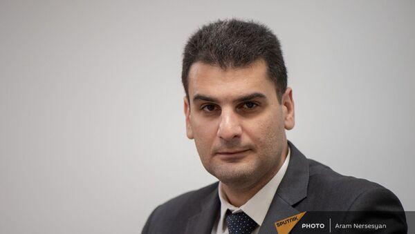 Вице-мэр Еревана Грачья Саркисян в гостях радио Sputnik Армения - Sputnik Արմենիա