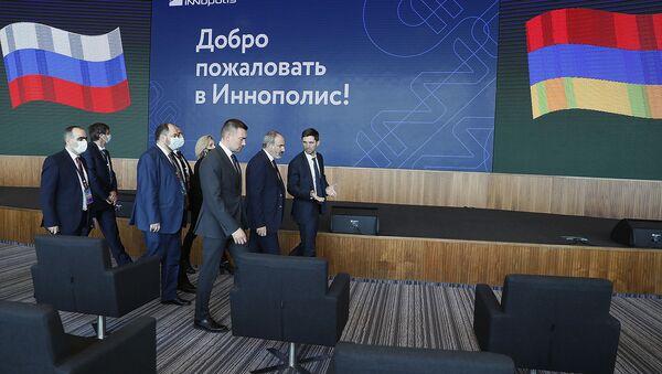 И.о премьер-министра Никол Пашинян посетил инновационный город Иннополис (30 апреля 2021). Казань - Sputnik Արմենիա