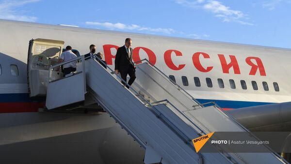 Глава МИД РФ Сергей Лавров с официальным визитом прибыл в Армению (5 мая 2021). Ереван - Sputnik Արմենիա