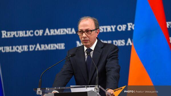 Пресс-конференция Сергея Лаврова и Ара Айвазяна (6 мая 2021). Еревaн - Sputnik Արմենիա