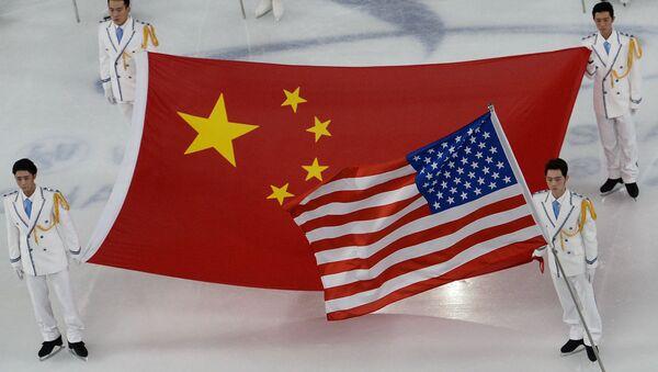 флаги США и Китая - Sputnik Армения