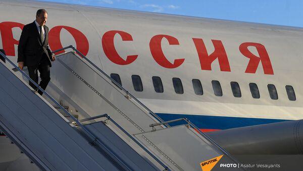 Глава МИД РФ Сергей Лавров с официальным визитом прибыл в Армению (5 мая 2021). Ереван - Sputnik Армения