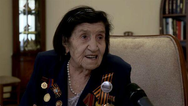 Նախագահ Արմեն Սարգսյանը հյուրընկալել է Հայրենական մեծ պատերազմի մի խումբ վետերանների - Sputnik Արմենիա