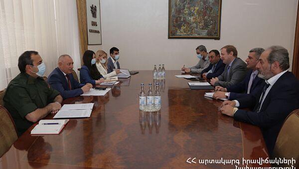 МЧС Армении и «Южно-Кавказская железная дорога» подписали меморандум (7 мая 2021). Еревaн - Sputnik Արմենիա
