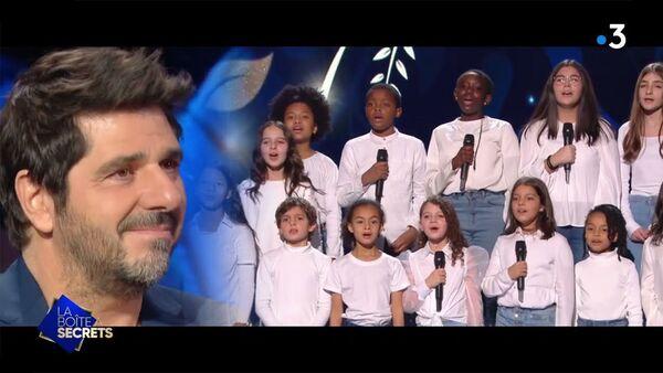 Песня Шарля Азнавура Для тебя Армения (Pour toi Arménie) в исполнении французского детского хора «Cap Coeur» в эфире телеканала France 3 - Sputnik Արմենիա