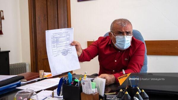 Директо Харбердского специализированного детского дома Арутюн Баласанян - Sputnik Արմենիա