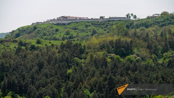 Панорама города Шуши  - Sputnik Армения