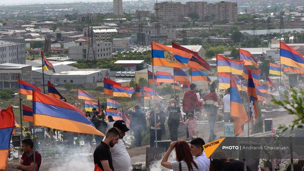 Шествие в Ераблур (9 мая 2021). Еревaн - Sputnik Армения